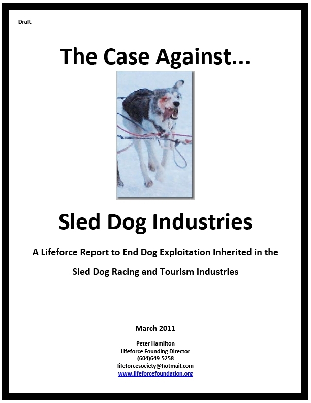 The Case Against Sled Dog Industries